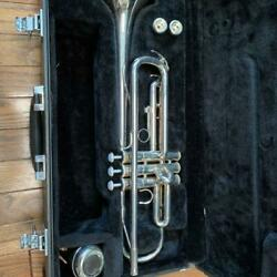 Yamaha Trumpet Ytr2330 Silver With Muter