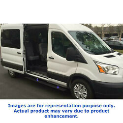 Amp Research Electric Running Boards Plug Nand039 Play System For 14-18 Ford Transit