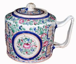 Antique English Made Ceramic Tea Kettle Kitchenware Décor Collectible. I59-83 Us