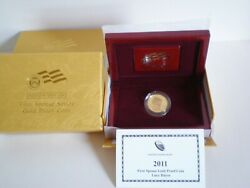 2011-w Lucy Hayes First Spouse 1/2 Oz, Gold Proof Coin Pa5