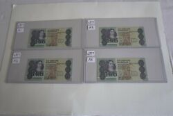 South Africa 2 Rand Set Of 11 Consecutive Serial Number Uncirculated - Rare