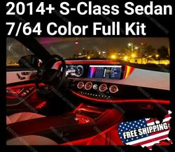 ⭐mercedes Benz W222 S Class 7/64 Color Ambient Light ⭐full Package⭐ S550 Amg S63