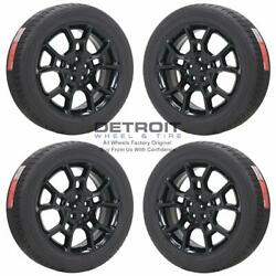 19 Dodge Charger Awd Gloss Black Wheels Rims And Tires Oem Set 4 2015-2019 2544