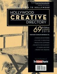 Hollywood Creative Directory By Hollywood Reporter Excellent Condition