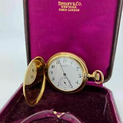And Co. 18k Gold Pocket Watch - Engraved - Free Shipping Usa