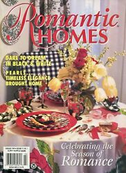 Romantic Homes Magazine Feb 1999 The Cottage Of Their Dreams Antique Valentines