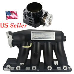 For 06-11 Civic Si K20z3 2004-2008 Acura Rsx Base Intake Manifold+throttle Body