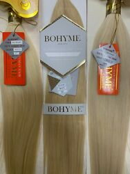 100 Remi Human Hair Extensions By Bohyme Gold Silky Straight 22 18
