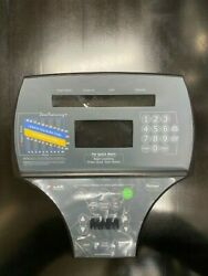 Life Fitness Ct9500 Faceplate W/ Upper And Lower Keypads Oem Ak61-00113-0001
