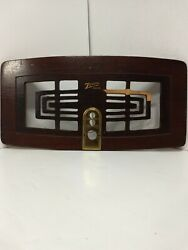 Vintage Zenith Grill Front Turntable Tube Radio Model 5r086