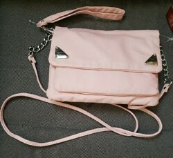 Faded Glory Women#x27;s Blush Purse New Crossbody Bags $8.00