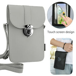 Women Cell Phone Purse Bag Shoulder Strap Wallet Touch Screen Cross Body Pouch $11.97