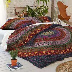 Indian Mandala Duvet Cover Bohemian Bed Cover Boho