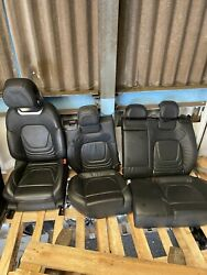 2017 Citroen Ds5 Interior Leather Electric Seats Front Rear And Door Cards