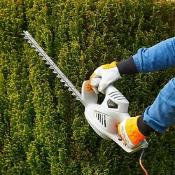Electric Hedge Trimmer 41cm Blade Length Bush Cutter 450w Protective Cover Cable