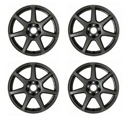 Work Emotion T7r 18x7.5 +53 +47 5x100 Mgm From Japan 4 Rims Wheels Jdm