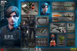 Limtoys 1/12 Rpd Police Officer Leon 6and039and039 Action Figure Resident Evil Deluxe Ver.