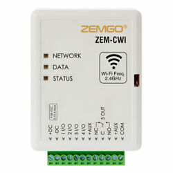 Zemgo Zem-cwi 2.4 Ghz Smart Mobile Wi-fi Universal Controller For Access Control