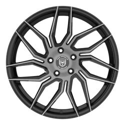 4 Gwg Hp2 20 Inch Black Dark Tint Rims Fits Buick Park Avenue 2000 - 2005