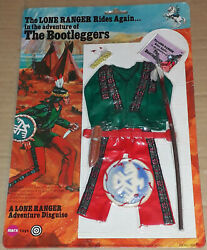Vintage Marx/gabriel The Lone Ranger Bootleggers Action Figure/outfit Mosc