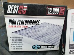 2 Best Cf10285 Cabin Air Filter Fit Toyota Lexus Charcoal Carbon Fast Shipping