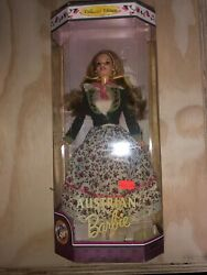 Austrian Barbie Dolls Of The World Collection New Blonde Collectors Edition Grus