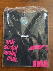 Authentic Anti Social Social Club X Undefeated X F1 T-shirt Xl Sold Out/webstore