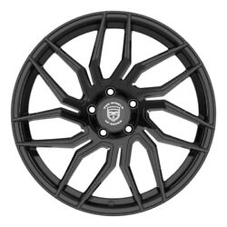 4 Hp2 20 Inch Staggered Gloss Black Rims Fits Ford Fusion 2006 - 2012