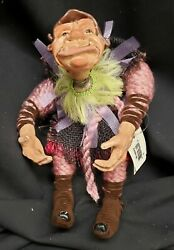 Morgue Sale Halloween Katherines Collection 3 Hunchback Doll Retired 2009 Mint