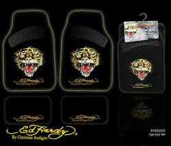 50 New Genuine Ed Hardy By Christian Front Rear Car Truck Carpet Floor Mats