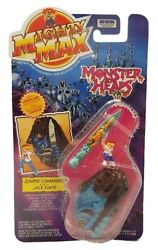 Mighty Max Monster Heads 1994 Irwin Toy Zombie Commando And Jack Knife