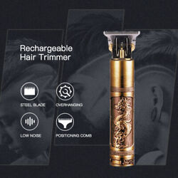 Electric Pro Hair Trimmer Rechargeable Cordless Cutting Dragon