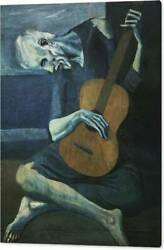 Museum Modern Art Giclee Print Picasso Painting Museum Quality Canvas Print