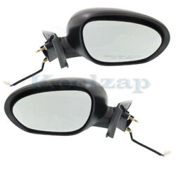 For 11-14 Juke After 06/11 Production Rear View Mirror Power Heated Set Pair
