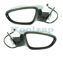 12-18 Vw Beetle Rear View Door Mirror Assembly Power Heated W/signal Set Pair