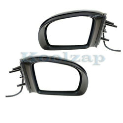 06-08 Benz Ml-class Mirror Power Heated Memory W/signal And Puddle Lamp Set Pair