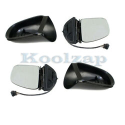 02-05 Benz Ml-class Rear View Mirror Power Heated W/memory And Signal Set Pair