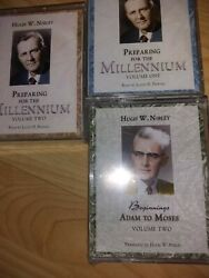 New In Shrink Wrap. Millennium And Beginnings By Hugh W. Nibley, Tape Audiobooks