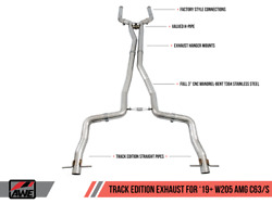 Awe Switchpathandtrade Exhaust System For 2019+ Mercedes-benz W205 Amg C63/s Coupe