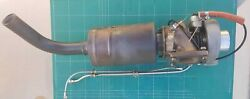 Rotax 912 914 Turbocharger 887-129 With Muffler And Turbo Pressure Oil Lines