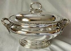 Silver Plated Soup Tureen. 2nd Battalion 14th Foot West Yorkshire Regiment. 1858
