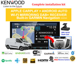 Kenwood Dnx9190dabs For Ford Transit 2015-2017 Vo Car Stereo Upgrade