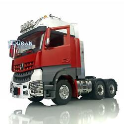 Lesu Rc Metal 66 Chassis Light Hercules Painted Actros Cabin 1/14 Tractor Truck