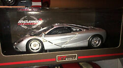 Mclaren F1 Silver 118 By Ut Models Very Rare Discontinued New In Box Last Piece
