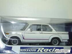 Bmw 2002 Turbo Racing White 118 By Anson New In Box Rare Discontinued Piece