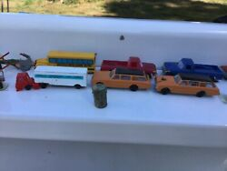 Vintage Model Train Railroad Signs Props Toy Cars Scale