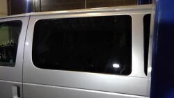 Driver Quarter Glass Front Privacy Tint Fits 98-14 Ford E150 Van 1266584
