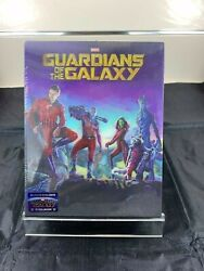 Guardians Of The Galaxy Vol. 1 Ultimate Ed Blufans Blu-ray 3d + 2d Steelbook