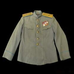 Vintage Original Everyday Tunic Major General Air Force Red Army Ussr 1943-45