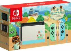 Nintendo Switch Animal Crossing New Horizon Special Edition Rare Sold Out